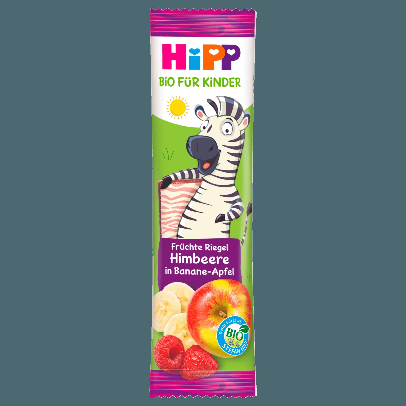 Hipp Früchte Freund Zebra Himbeer in Banane-Apfel 23g
