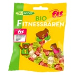 Frusano Bio Gummibären Fitnessbären fructosefrei vegan 100g