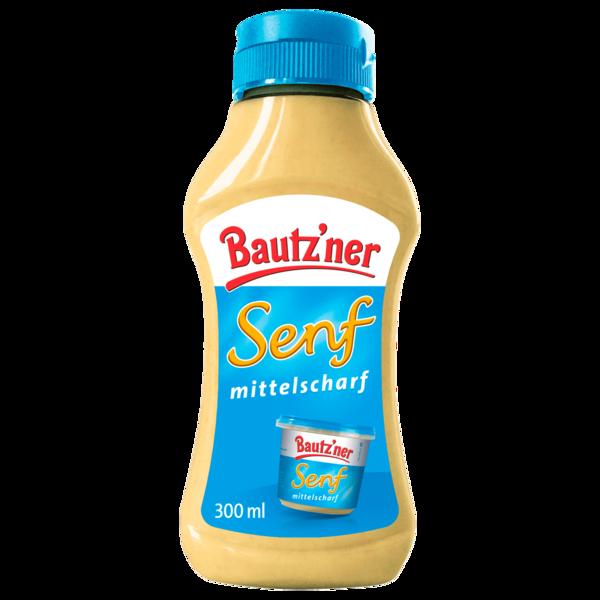 Bautz'ner Senf mittelscharf 300ml