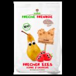 Erdbär Freche Freunde Frecher Keks Birne und Erdbeere 125g