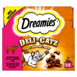 Dreamies Katzenfutter Deli-Catz Rind 25g