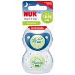 Nuk Night & Day Silicone 18-36 Monate 2 Stück