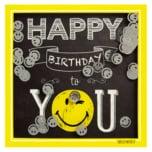 Kartenserie Shake Cards Happy Birthday to you