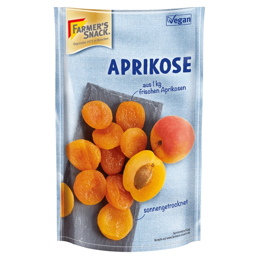 Farmers Snack Aprikosen geschwefelt 200g