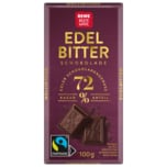 REWE Beste Wahl Edel Bitter 72% 100g