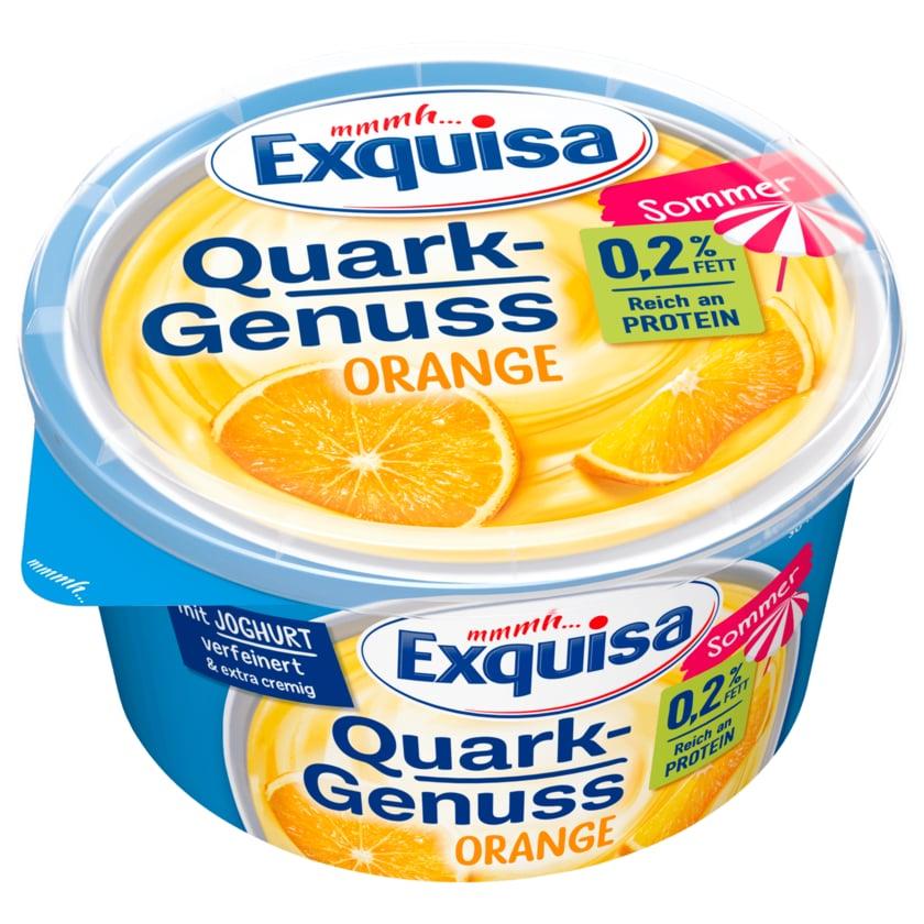 Exquisa Quark Genuss Orange 0,2% 500g