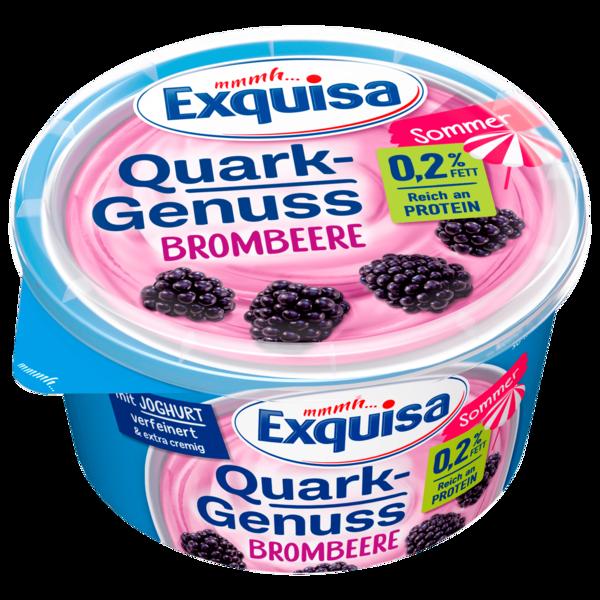Exquisa Quarkgenuss Sommer Brombeere 500g