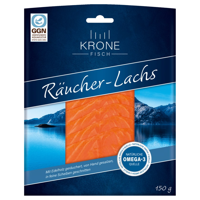Krone Räucher-Lachs 150g