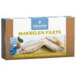 Followfish Makrelen Filets in Bio-Olivenöl 125g