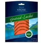 Krone Graved Lachs mit Senf-Dill-Sauce 100g