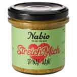 Nabio Bio Brotaufstrich Spinat Hanf 140g