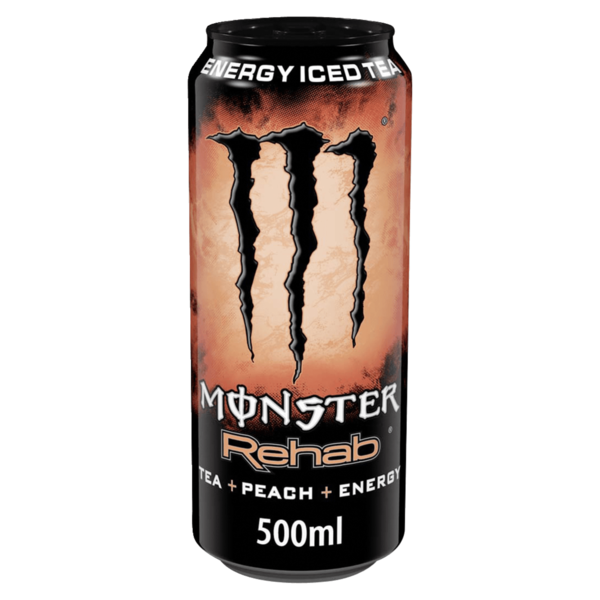 Monster Energy Rehab Peach Tea 0,5l
