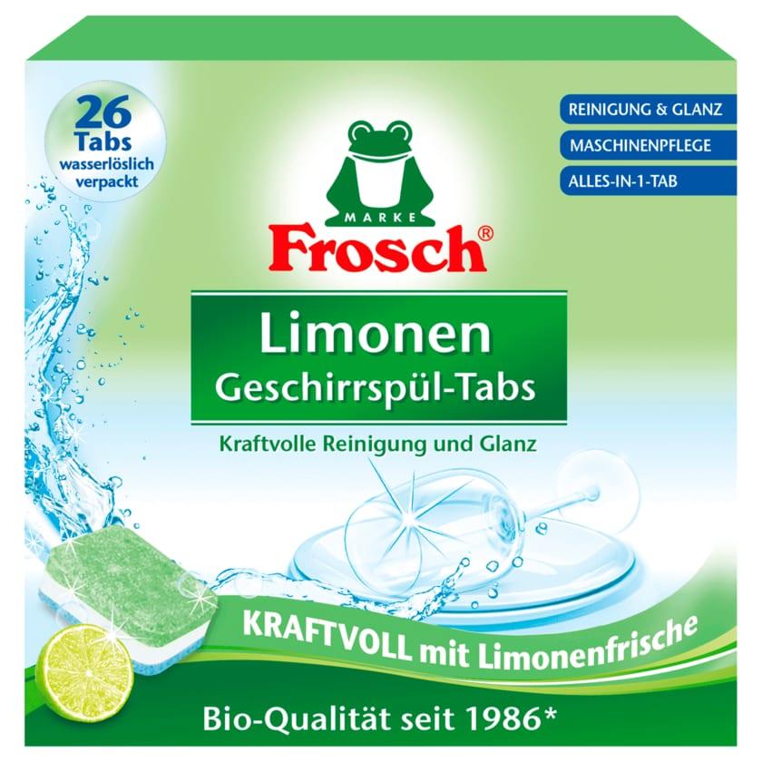 Frosch Geschirrspül-Tabs Limonen 550g