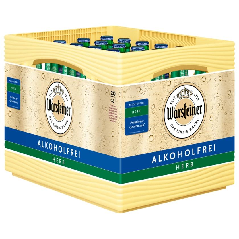 Warsteiner Herb Alkoholfrei 20x0,5l