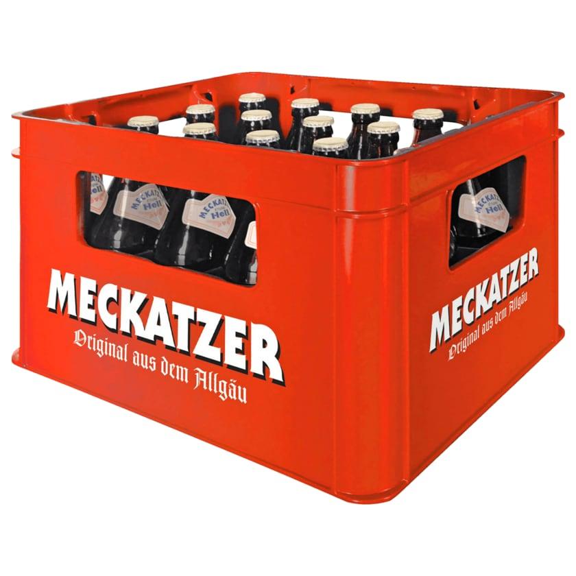 Meckatzer Hell 20x0,5l