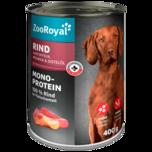 ZooRoyal Hundefutter Rind mit Kartoffeln & Möhren 400g