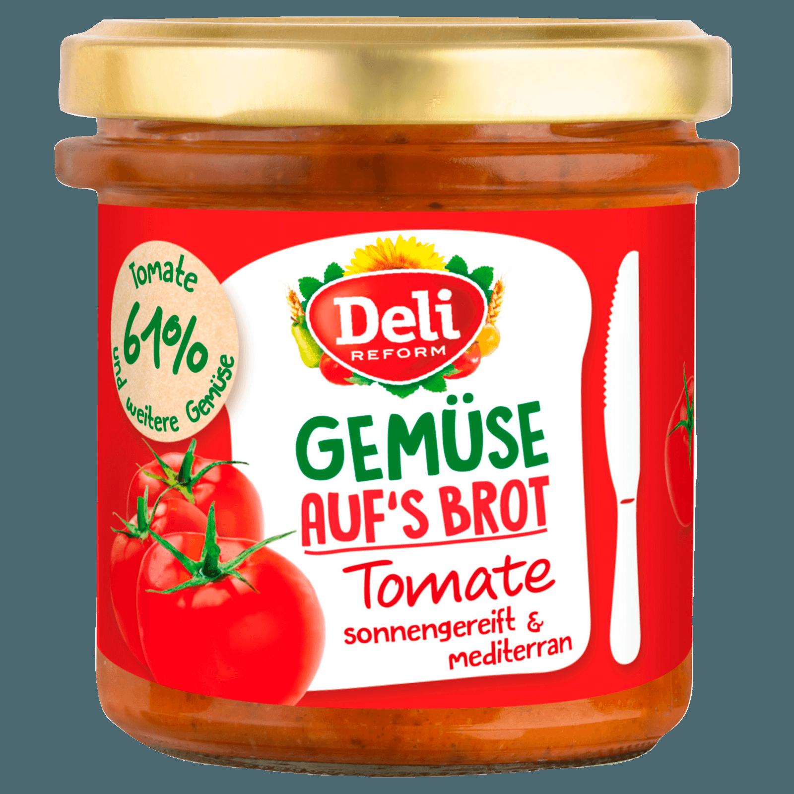 Deli Gemüse auf Brot Tomate 150g