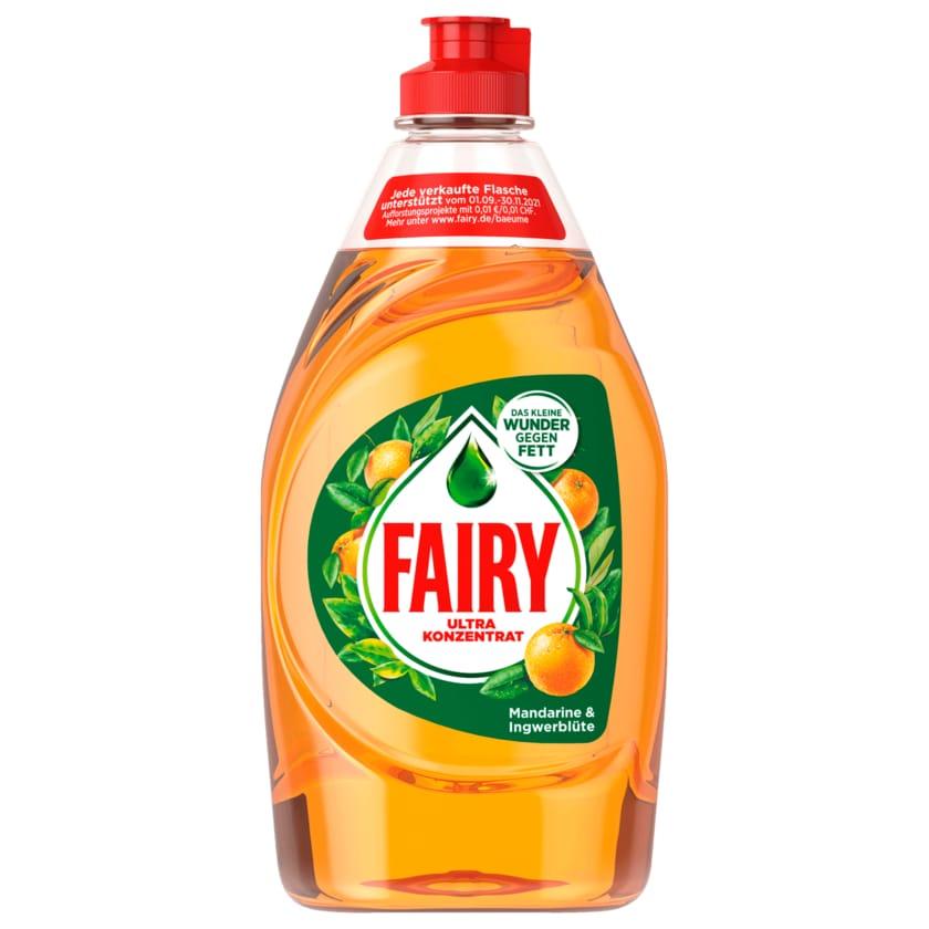 Fairy Ultra Konzentrat Handspülmittel Mandarine & Ingwerblüte 450ml