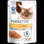 Perfect Fit Katzenfutter Sensitve 1+ mit Huhn 85g