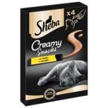 Sheba Katzensnack Creamy Snacks mit Huhn 4x12g