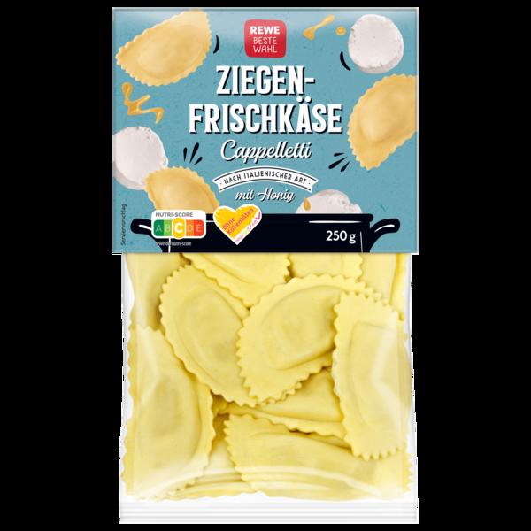 REWE Beste Wahl Cappelletti Ziegenfrischkäse mit Honig 250g