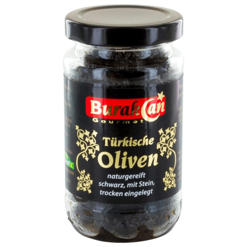 Burakcan Türkische Oliven schwarz 120g