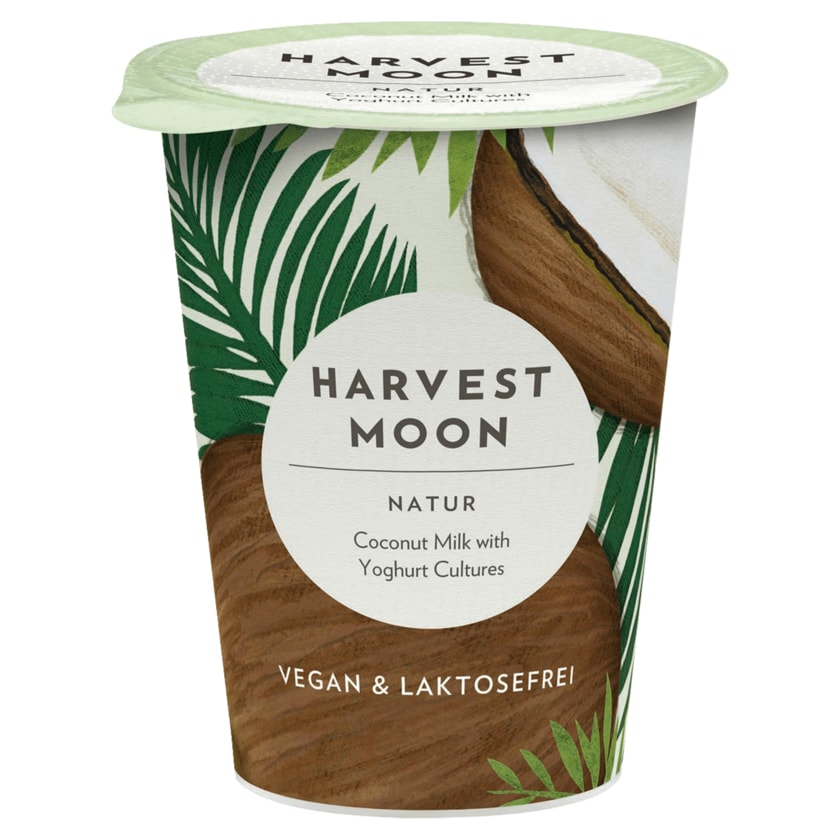 Harvest Moon Bio Kokosmilch-Joghurtalternative Natur vegan 375g