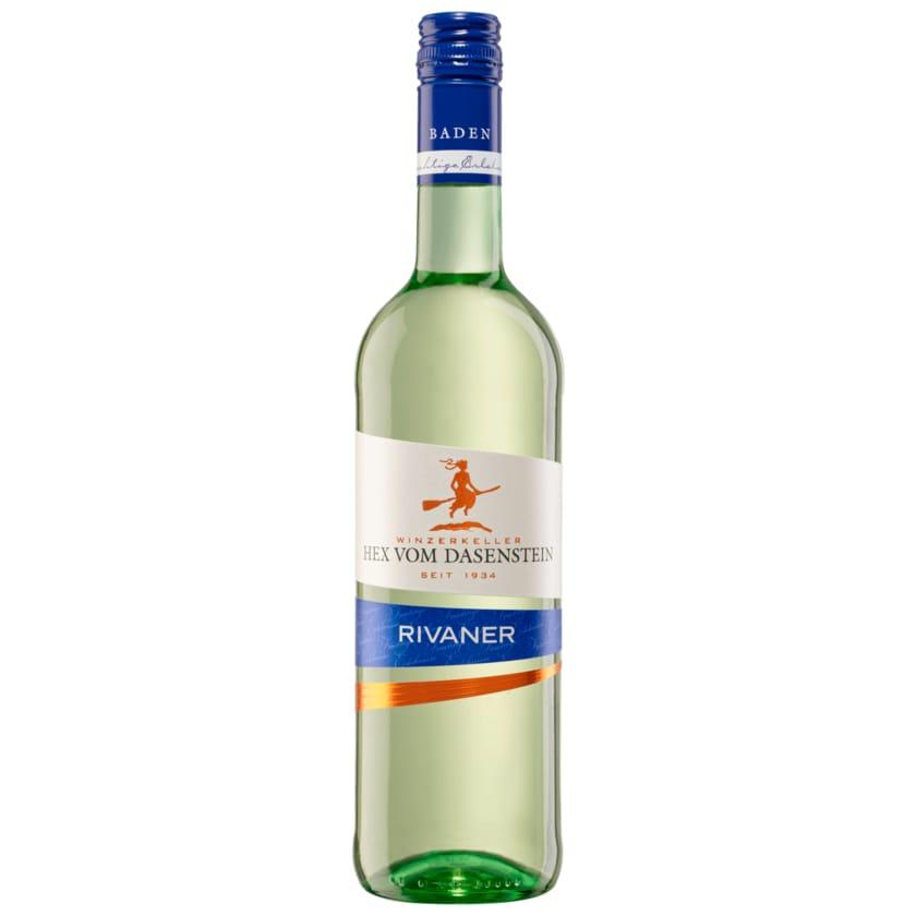 Hex vom Dasenstein Weißwein Rivaner QbA trocken 0,75l