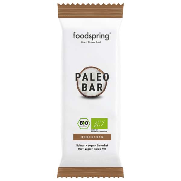 Foodspring Paleo Bar Kokosnuss 40g