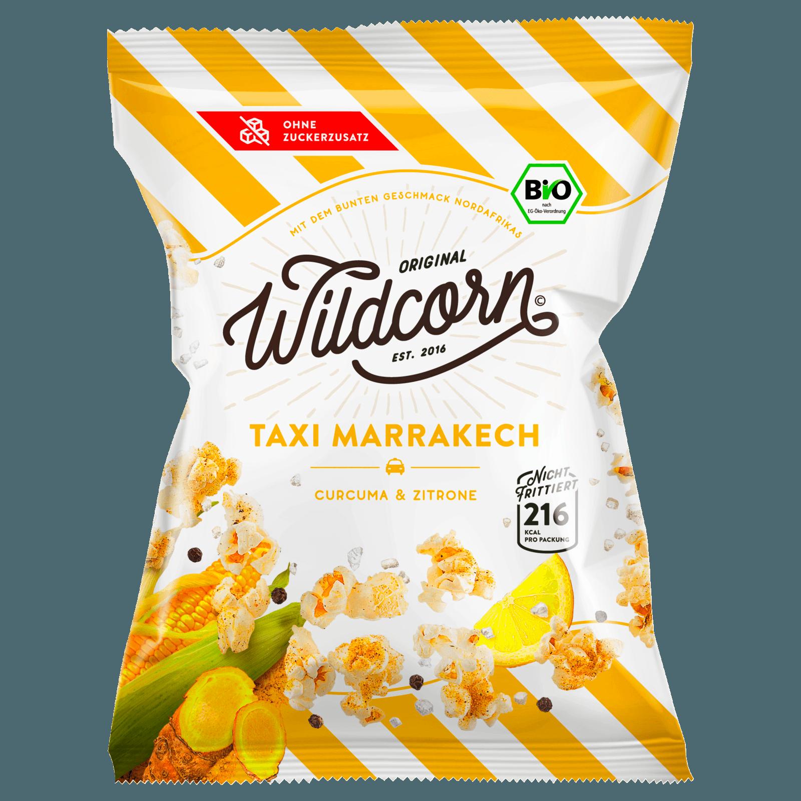Wildcorn Popcorn Taxi Marrakech Curry & Zitrone 50g