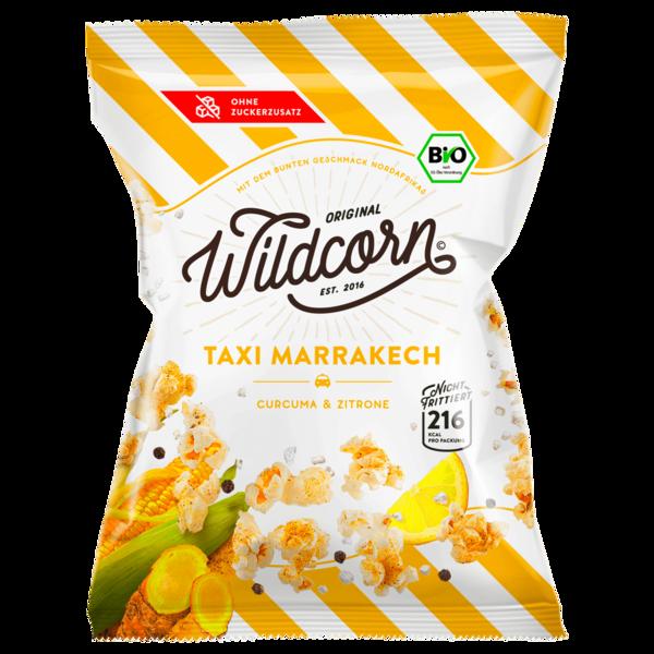 Wildcorn Bio Popcorn Taxi Marrakech Curry & Zitrone 50g