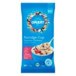 Davert Porridge Cup Bio Couscous-Cranberry 65g
