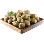 Palatum Mammut Oliven mit Knoblauch