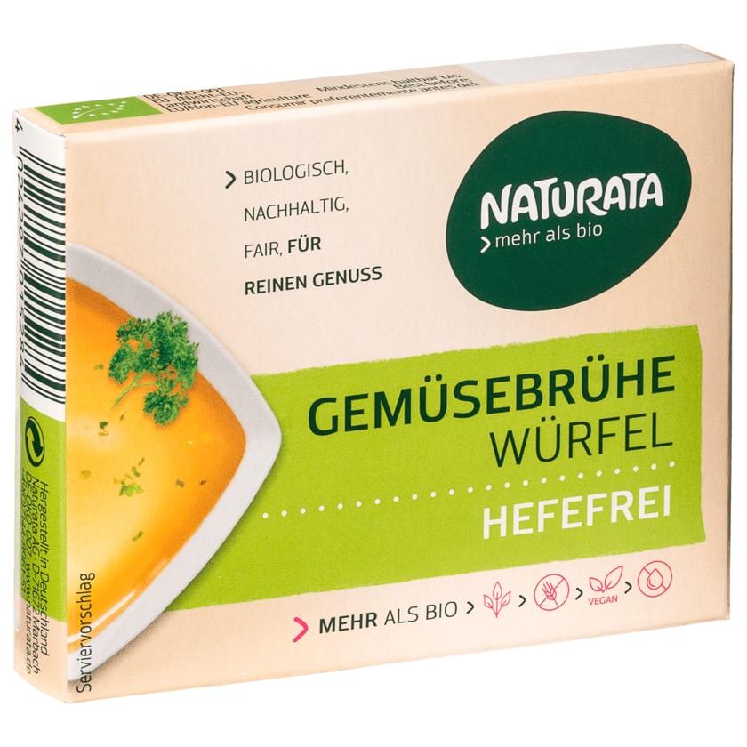 Naturata Bio Gemüsebrühe Würfel hefefrei 12g