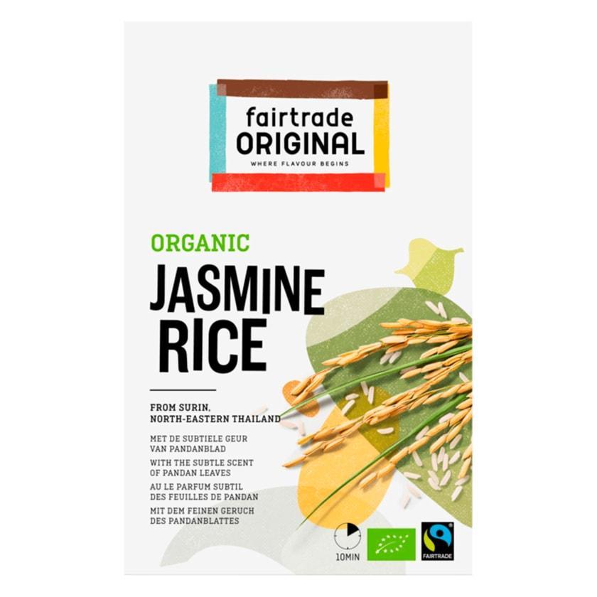 Fairtrade Original Bio Jasmin Reis 400g