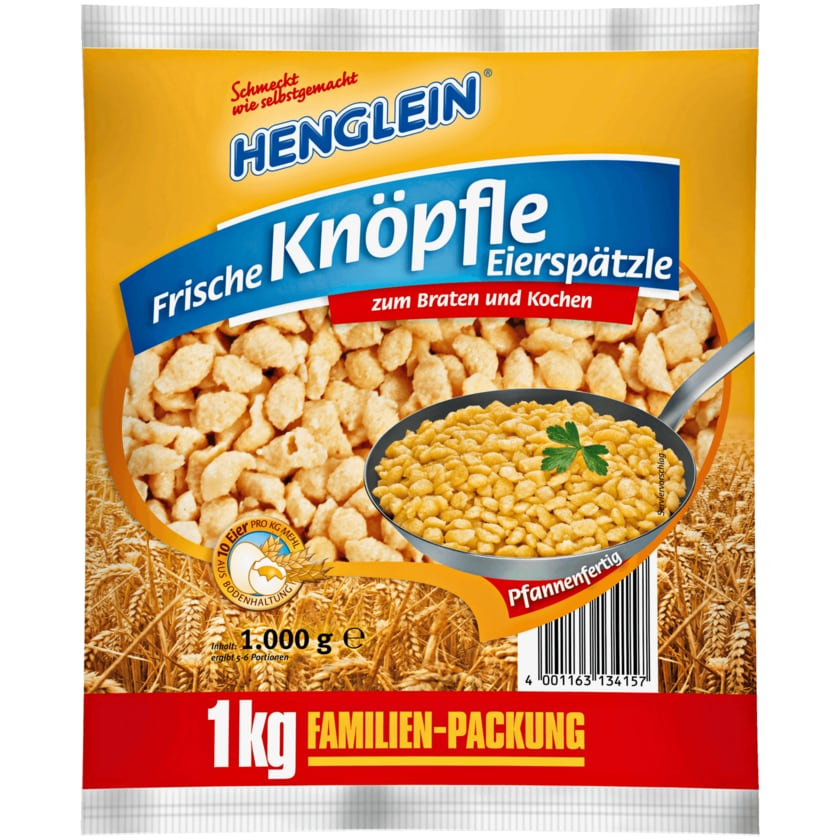 Henglein Knöpfle Eierspätzle 1kg