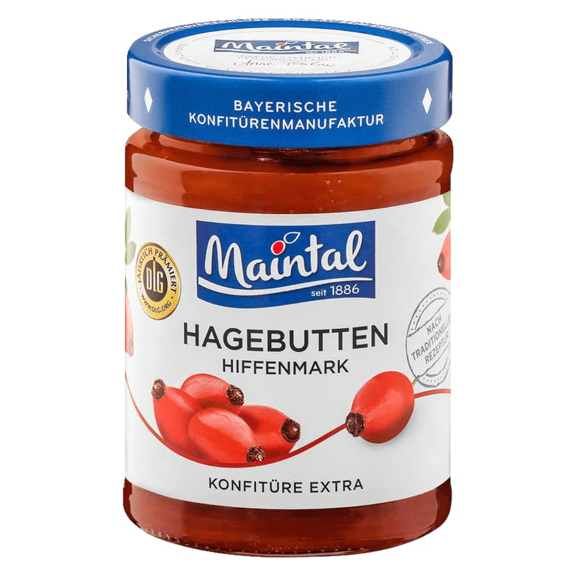 Maintal Hiffenmark Hagebutten-Konfitüre 340g