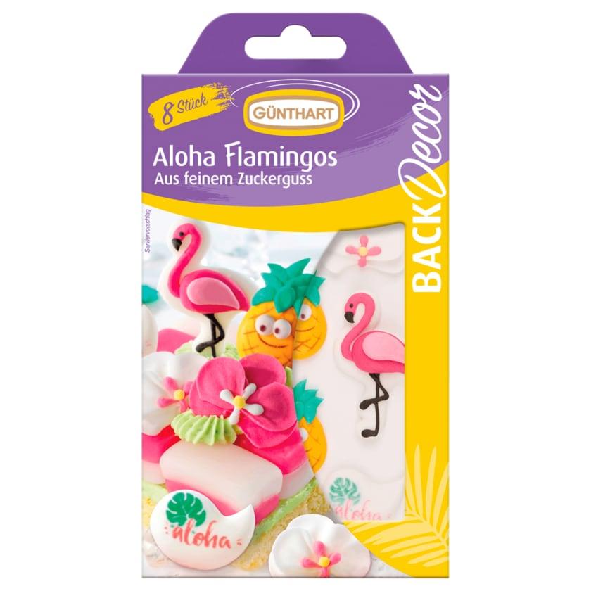 Günthart Aloha Flamingos Backdekoration 16g