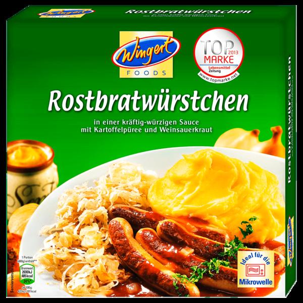 Wingert Foods Rostbratwürstchen 480g