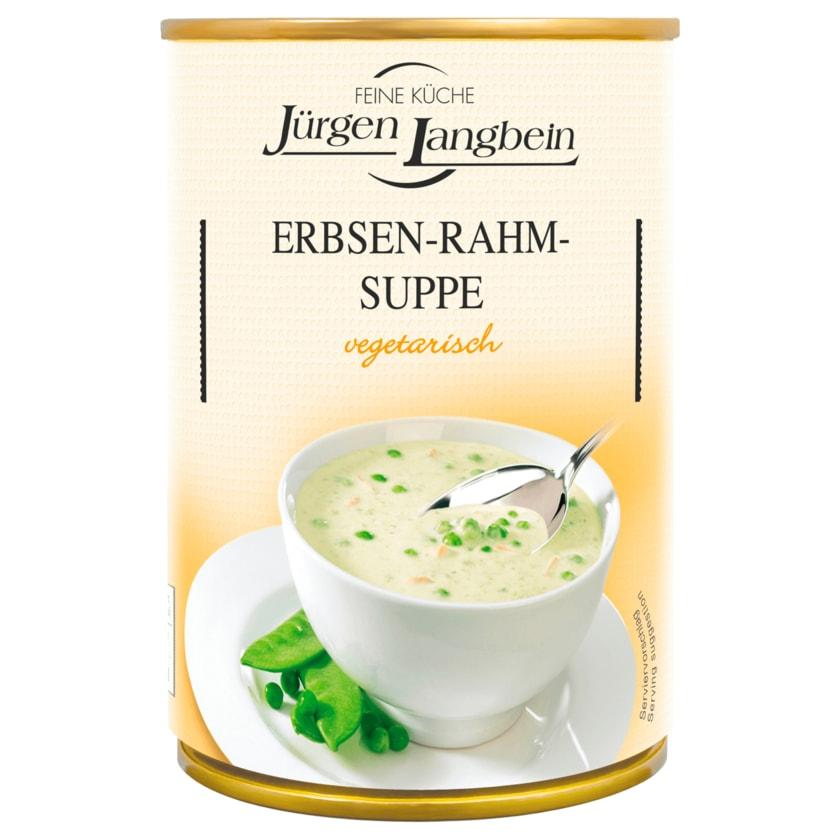 Jürgen Langbein Erbsen-Rahm-Suppe 400ml