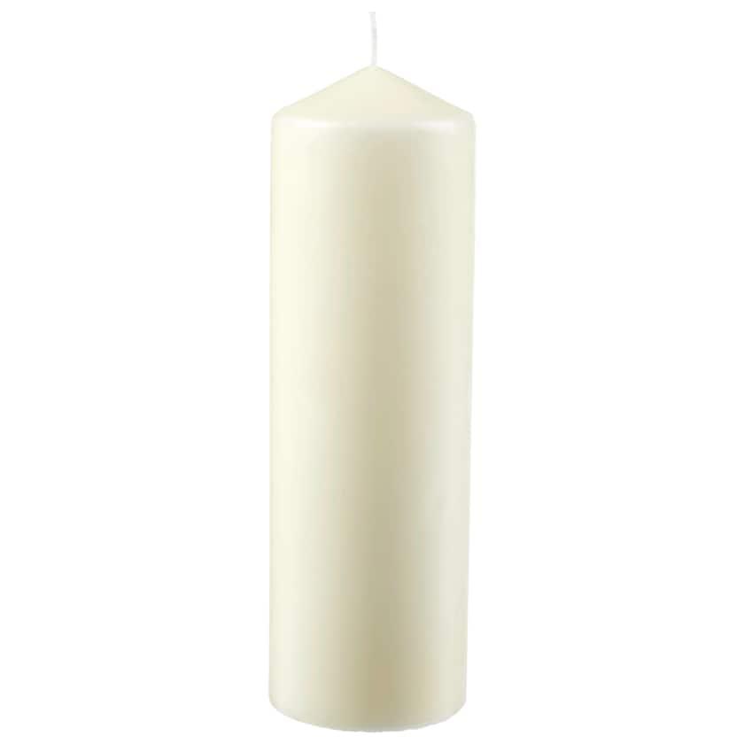Stumpen Kerze ivory 25cm