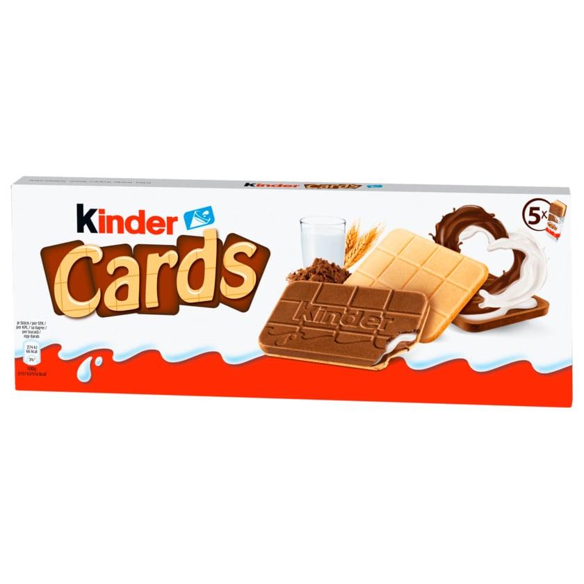 Kinder Cards 128g, 5 Stück