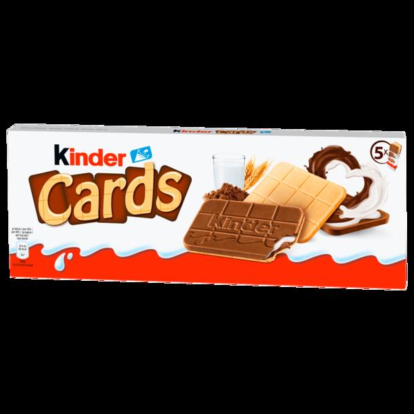 Kinder Cards 128g, 10 Stück