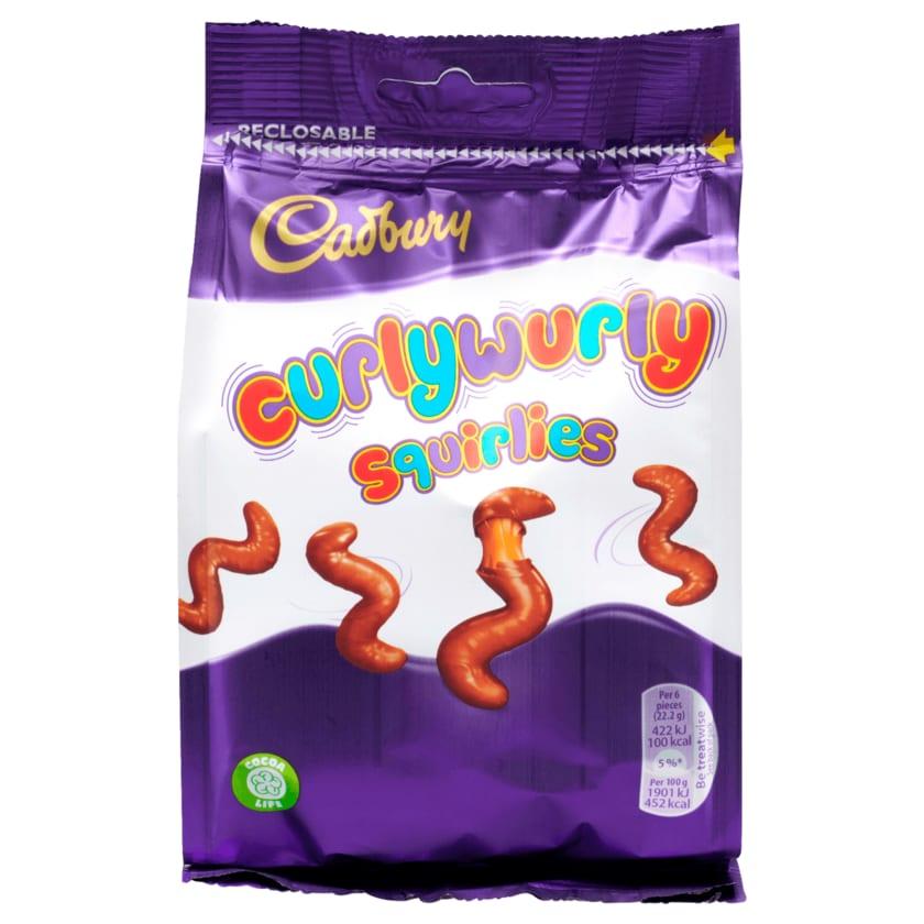 Cadbury Schokolade mit Karamell Curlywurly Squirlies 110g