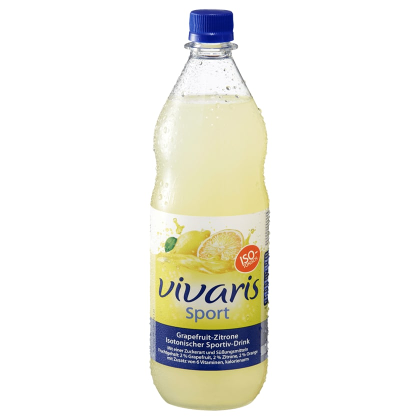 Vivaris Sport Grapefruit Zitrone 1L