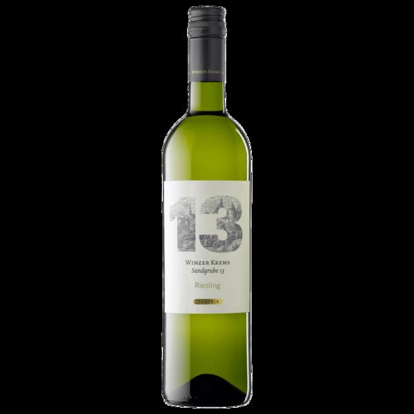 Winzer Krems Weißwein Sandgrube 13 Riesling Österreich trocken 0,75l