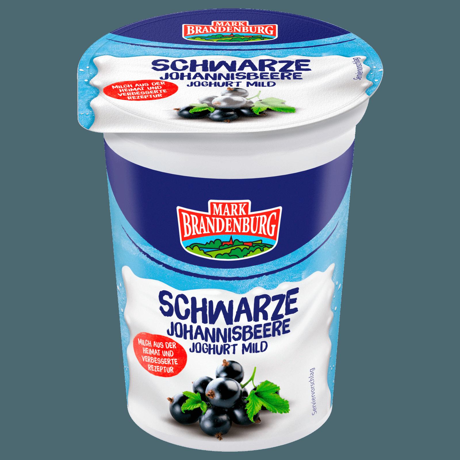 Mark Brandenburg Fruchtjoghurt Schwarze Johannisbeere 200g