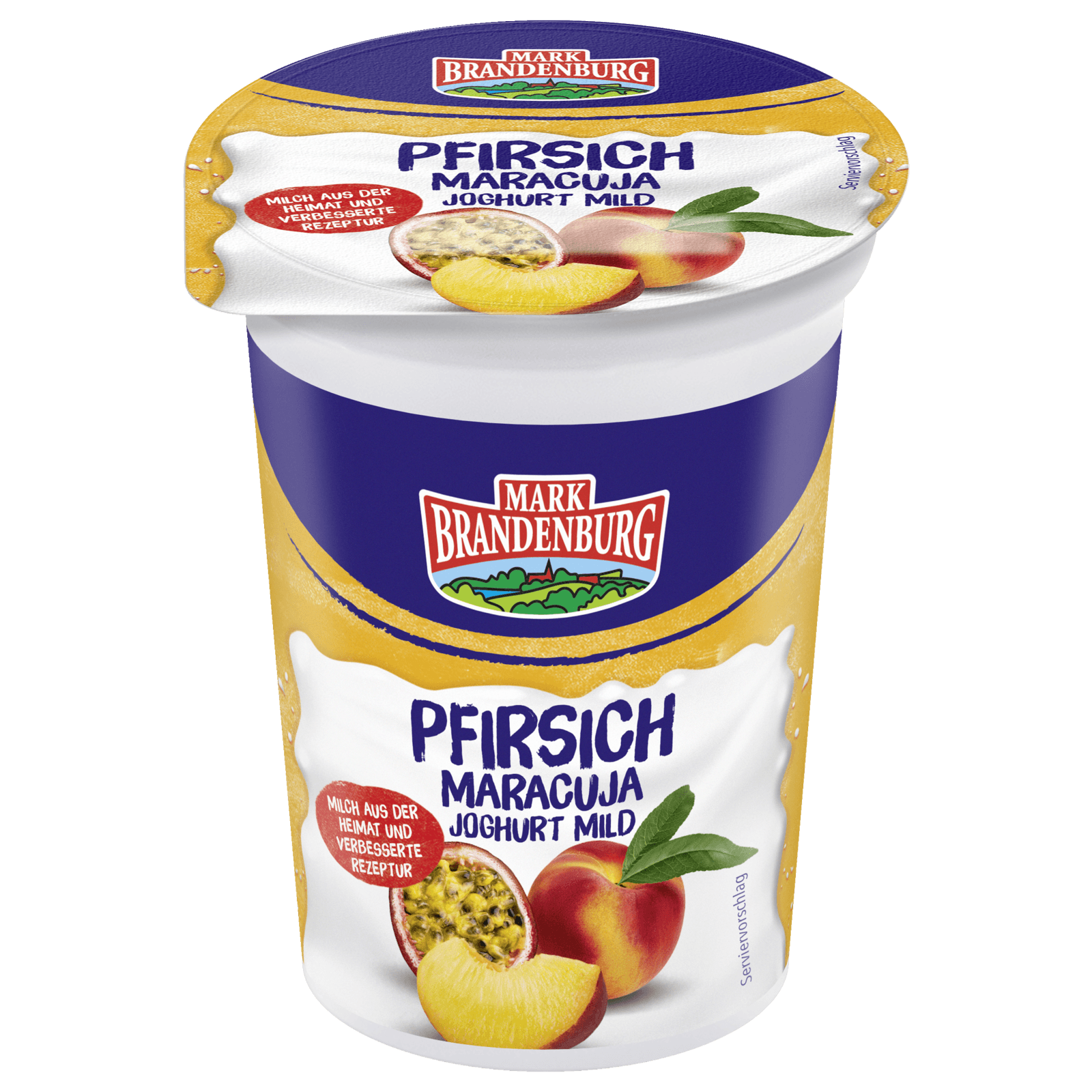Mark Brandenburg Fruchtjoghurt Pfirsich-Maracuja 200g