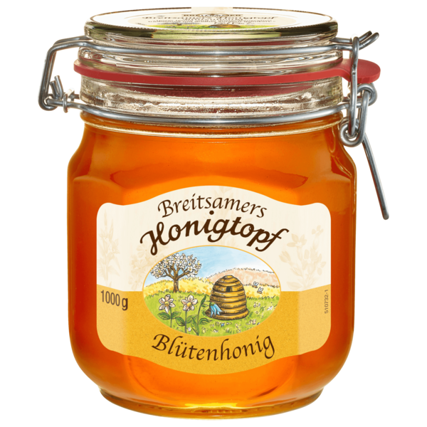 Breitsamer Honigtopf flüssig 1kg