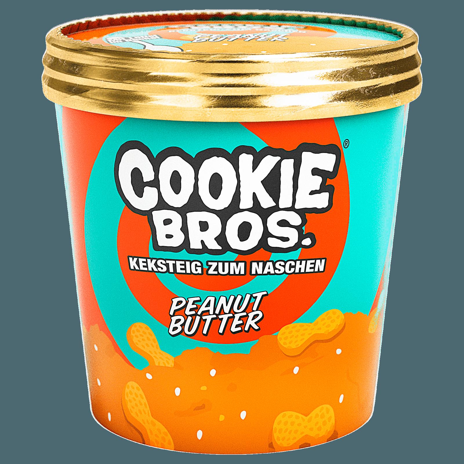 Cookie Bros Keksteig zum Naschen Peanutbutter 20g bei REWE online ...